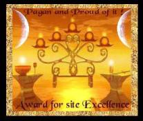 Award of Excellence from Pagan and Proud